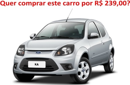 amostra gratis Concorra a um Ford KA 0Km, TV de LED, Notebook e etc