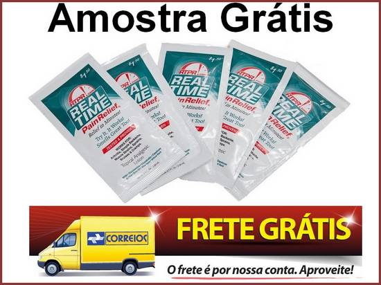Amostra Gr�tis Anti Inflamat�rio Pain Relief