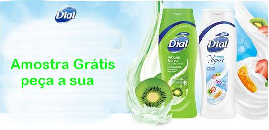 Amostra Gratis Shower Gel Dial